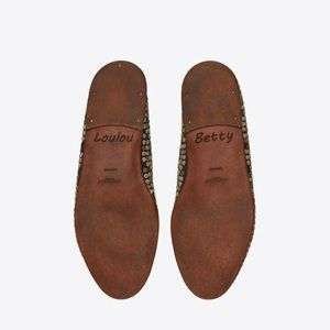 Saint Laurent Shoes - Saint Laurent RIVE GAUCHE Studded Flats